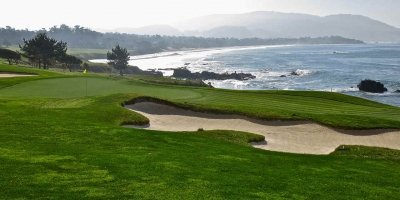 Uno de sus famosos campos de golf